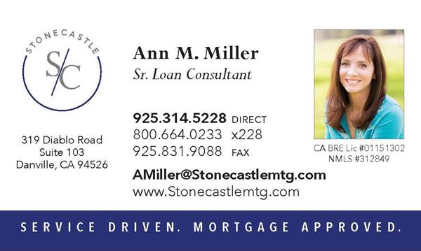 Ann Miller, Stonecastle Land & Home Financial