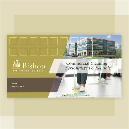 Bishop Building Care Direct Mail Design