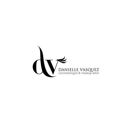 DV Makeup Artist Logo Design