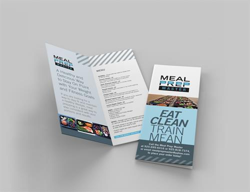 Meal Prep Master Brochure Design
