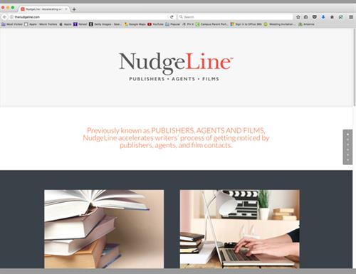 NudgeLine Website Design