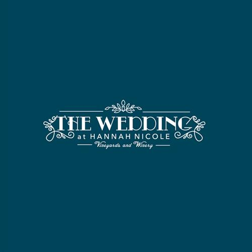 The Wedding at Hannah Nicole Logo Design
