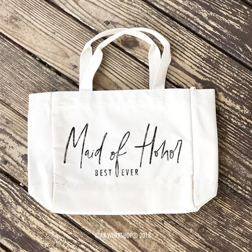 Create Custom Tote Bags for your Bridal Party