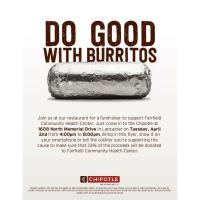 Chipotle for Fairfield Community Health Center