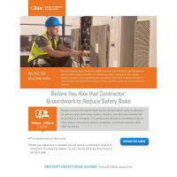 BWC Webinar on Contractor Safety