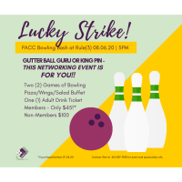 PACC Lucky Strike Bowling Bash!