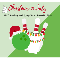 """PACC """"Christmas in July"""" Bowling Bash!"""