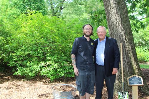 Shane & Jack at Dawes Arboretum