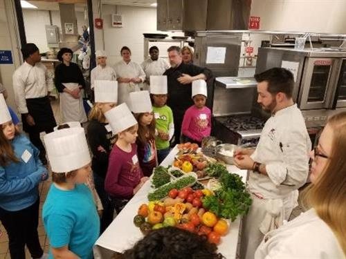 Career Tech Saturday in Culinary with 3-5th graders