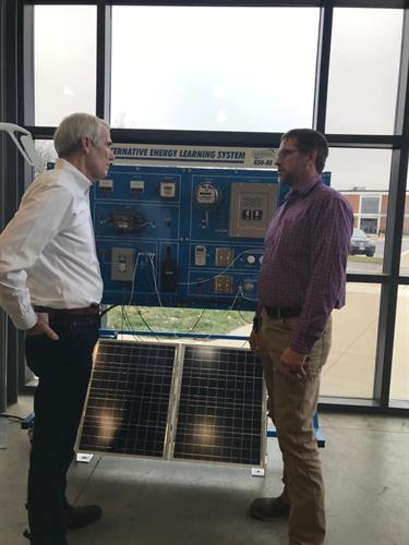 Senator Portman visit in Electrical