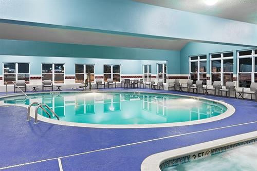 Take a cool dip in our indoor pool