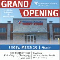 Volunteers of America Thrift Store Grand Opening