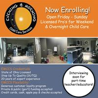 Evening & Morning Child Care Services