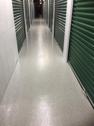 Clean hallways for indoor temperature control units