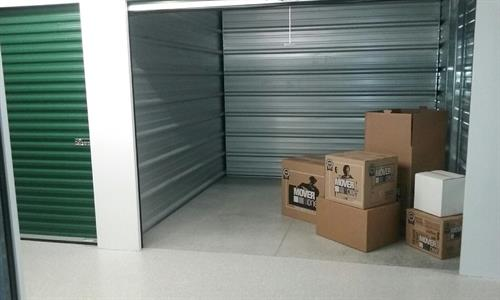 Wide doors for easy packing and access