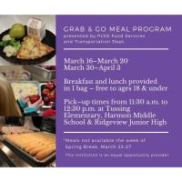 PLSD Offers Free Meals for Students