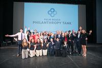 STUDENT FINALISTS WIN $100,000 AT THIRD ANNUAL PALM BEACH PHILANTHROPY TANK EVENT