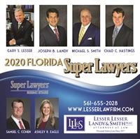 Lesser Lesser Landy & Smith Attorneys Named Super Lawyers or Rising Stars