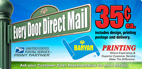 Every Door Direct Mail - USPS® Every Door Direct Mail® (EDDM®) is an affordable targeted advertising service that lets you map your marketing mail audience by age, income, or household size