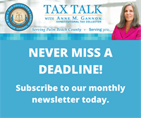 Prepare for Your Property Tax Payment with Tax Talk with Tax Collector Anne M. Gannon