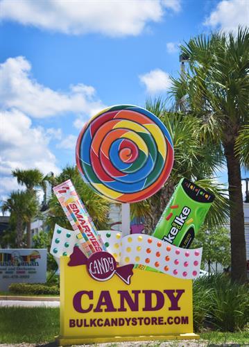Look for the 12 foot lollipop!