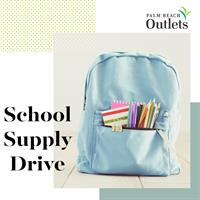Palm Beach Outlets Hosts Back-to-School Supplies Drive for Connections Education Center