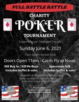 Full Battle Rattle Charity Poker Tournament