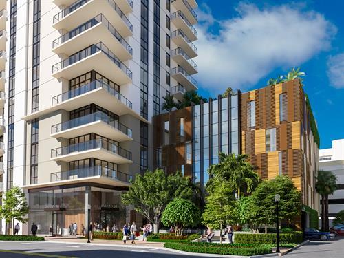 345 Banyan Blvd. West Palm Beach, FL Renderings