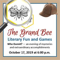The Grand Bee – Literary Fun and Games