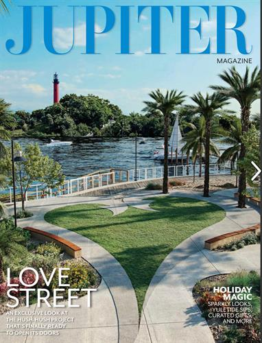 Featured in Jupiter Magazine's 2020 Gift Guide