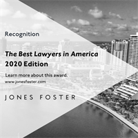 16 Jones Foster Attorneys Recognized in The Best Lawyers in America 2020
