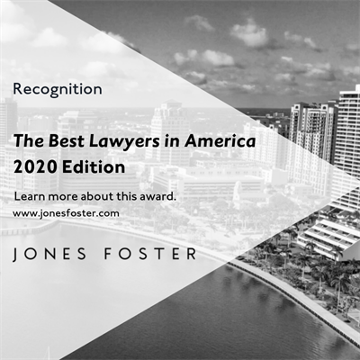 16 Jones Foster Attorneys Recognized in The Best Lawyers in