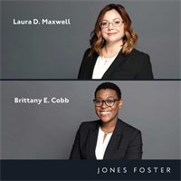 Jones Foster Expands Practice Groups with Two Attorneys