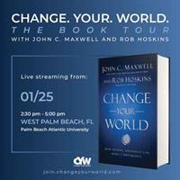 Tequesta Resident, Influential Leadership Expert Launches 'Change Your World' Movement at PBA