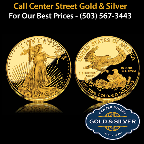 One ounce American Gold Eagle