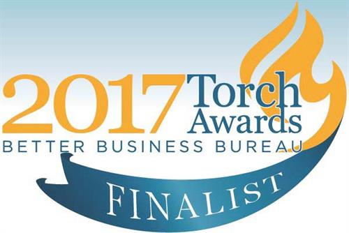 2017 BBB Torch Award Finalist