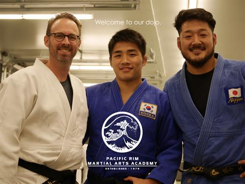 Welcome to Pacific Rim - International Training Center for USA Judo!
