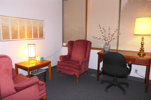 """Rent by the Hour"" Counselling Room"