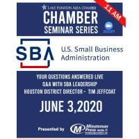 Q & A with SBA: Chamber Seminar Series presented by Minuteman Press - Humble