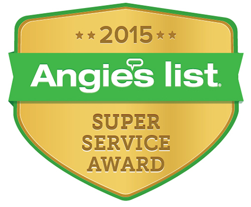 Angie's List Award since 2012