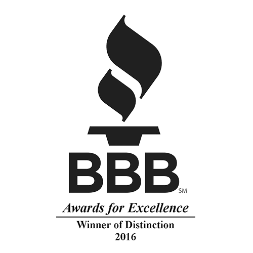 BBB Winner of Distinction since 2011