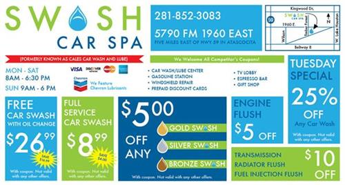 info for 29202 28a9b Swash Car Wash   Car Wash - Lake Houston Area - Lake Houston Area ...