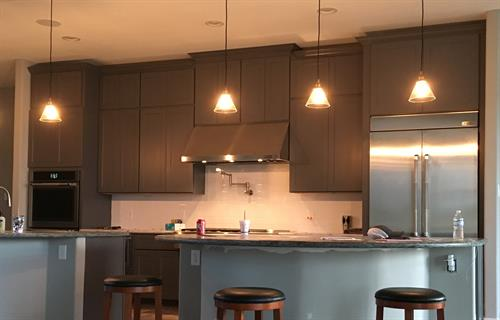TX Shaker Grey Cabinetry
