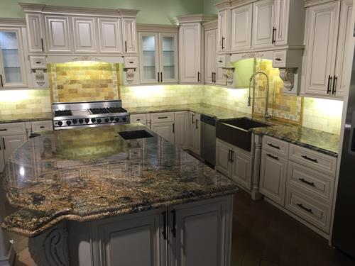 Elegant Ivory Cabinetry