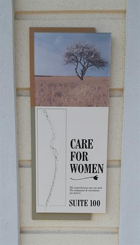 Thank you, Care For Women!