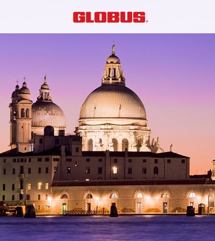 Take a GLOBUS land tour of Italy