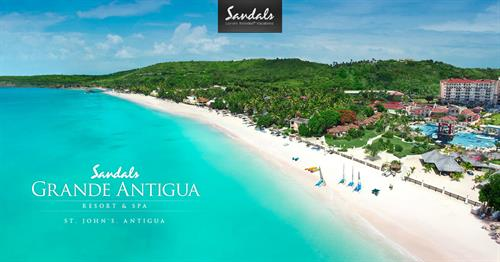 Experience one of Sandals Resorts' many tropical locations