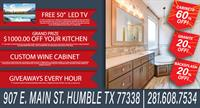 Texas Cabinetry Kitchen & Bath Grand Opening!!!