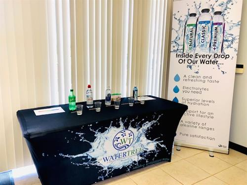 Come in and learn the true benefits of water