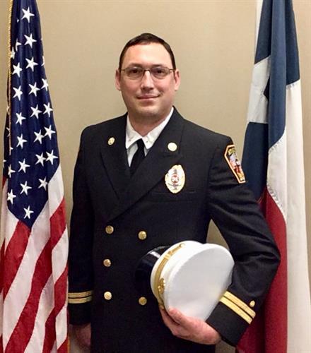 Battalion Chief - Andrew Galeucia
